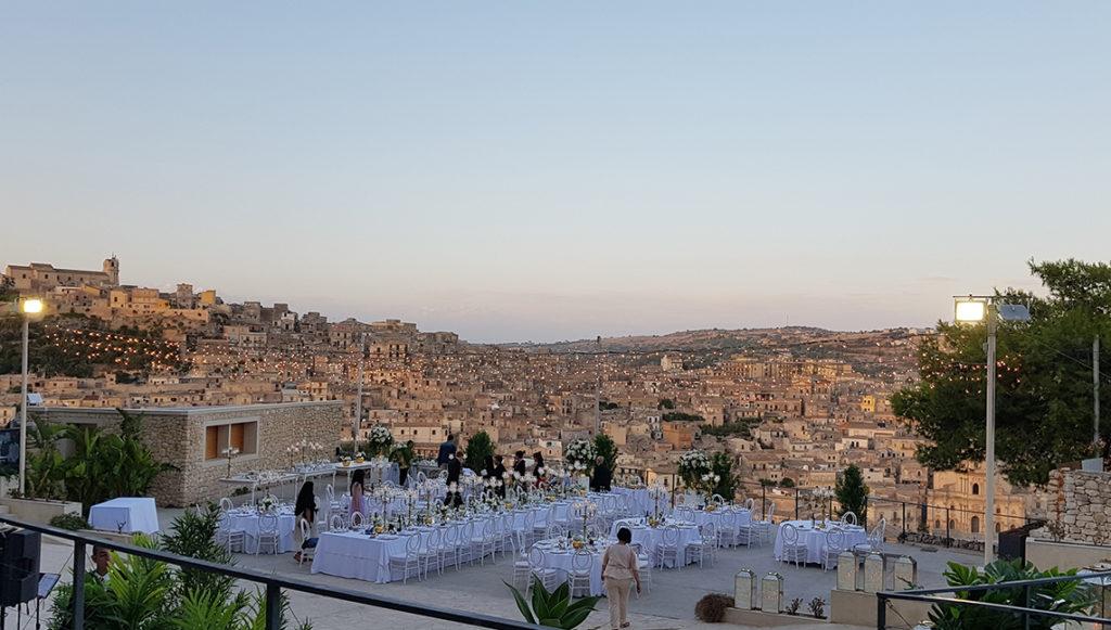I Seltz suonano ad un matrimonio a Modica in provincia di Ragusa