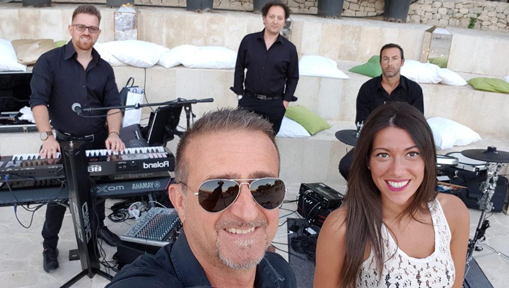 Musica per matrimoni a Messina con i Seltz